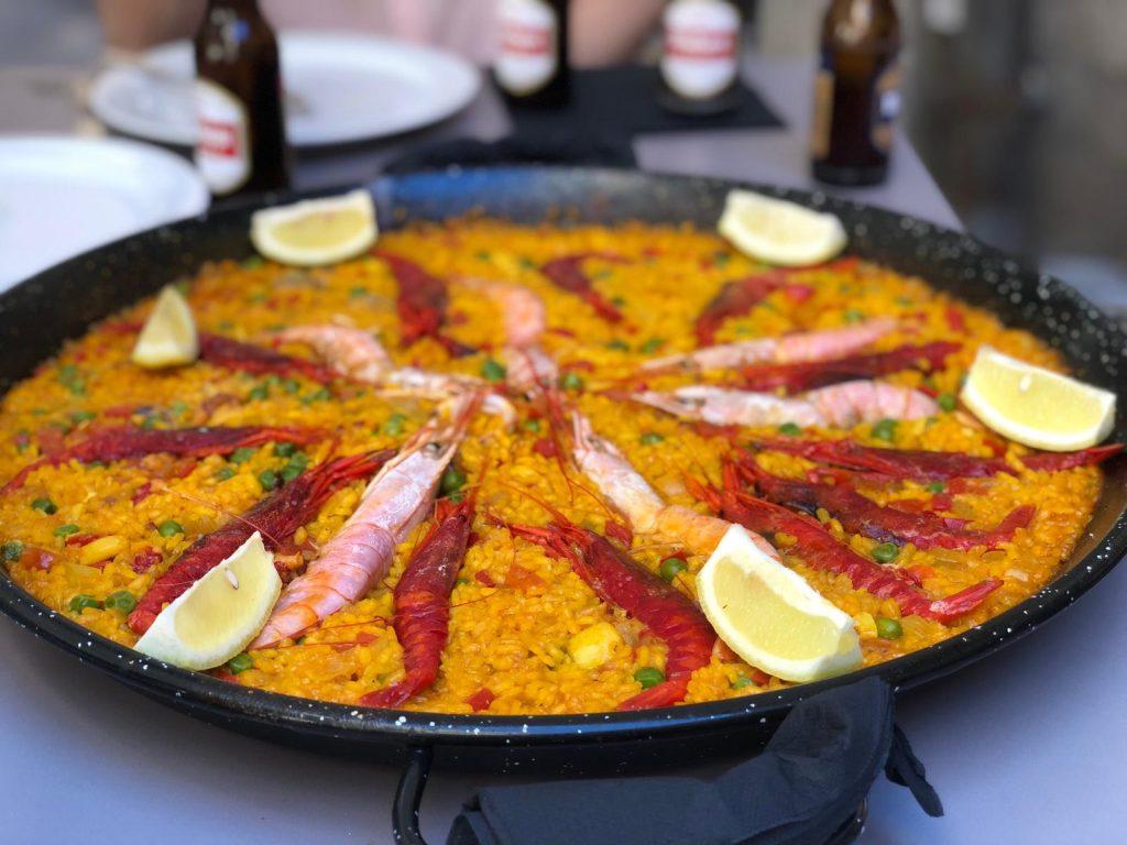 Paella en el Rincón de Juan (Toledo). Foto: Laura M.