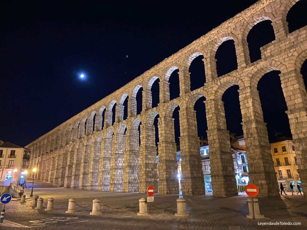 El impresionante acueducto de Segovia.