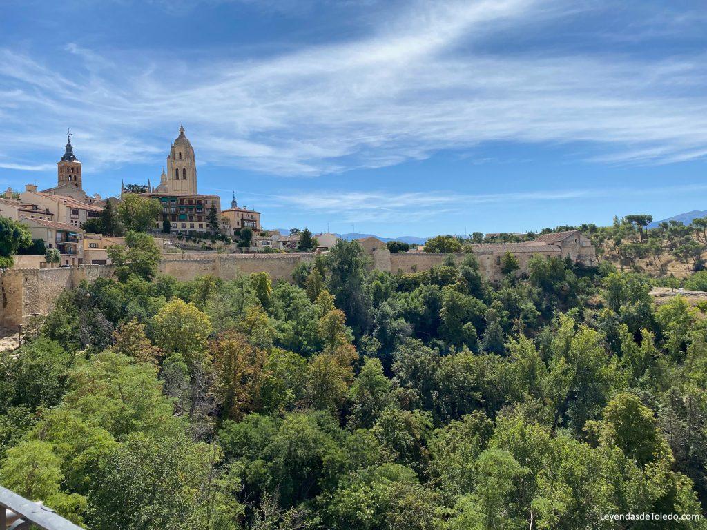 Vistas desde el torreón del Alcázar de Segovia