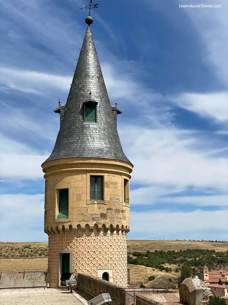 Una torre en el Alcázar de Segovia