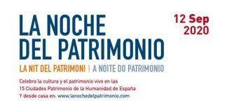 Noche del Patrimonio 2020, cartel