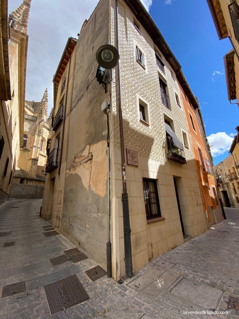 Una esquina en la judería de Segovia