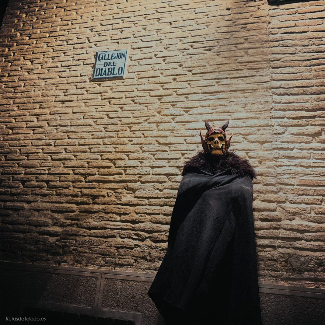 El Callejón del Diablo, con Diablo.