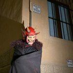 El Callejón del Infierno en Toledo, durante un teatro con Rutas de Toledo