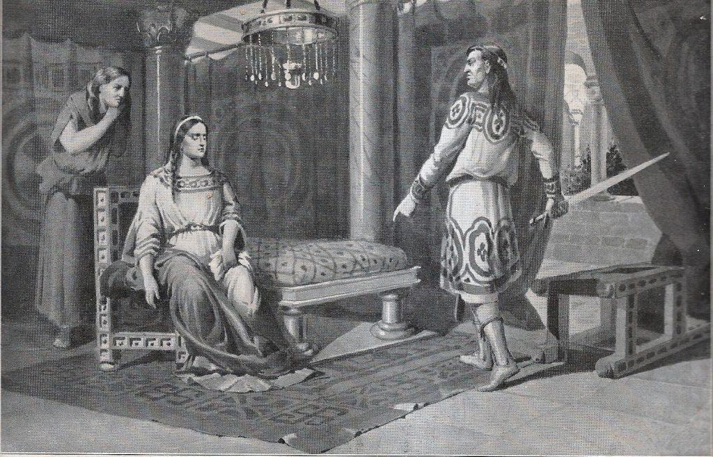 Amalarico y Clotilde