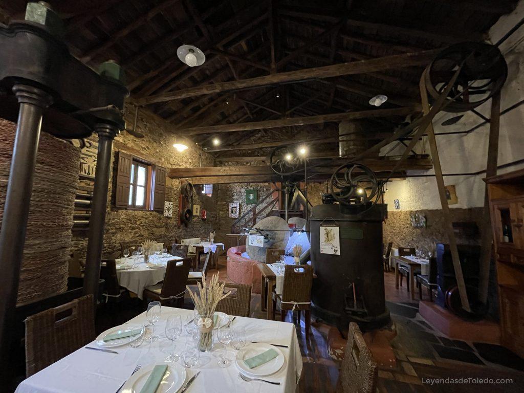 Restaurante El Molino de Cabañeros, en Horcajo de los Montes