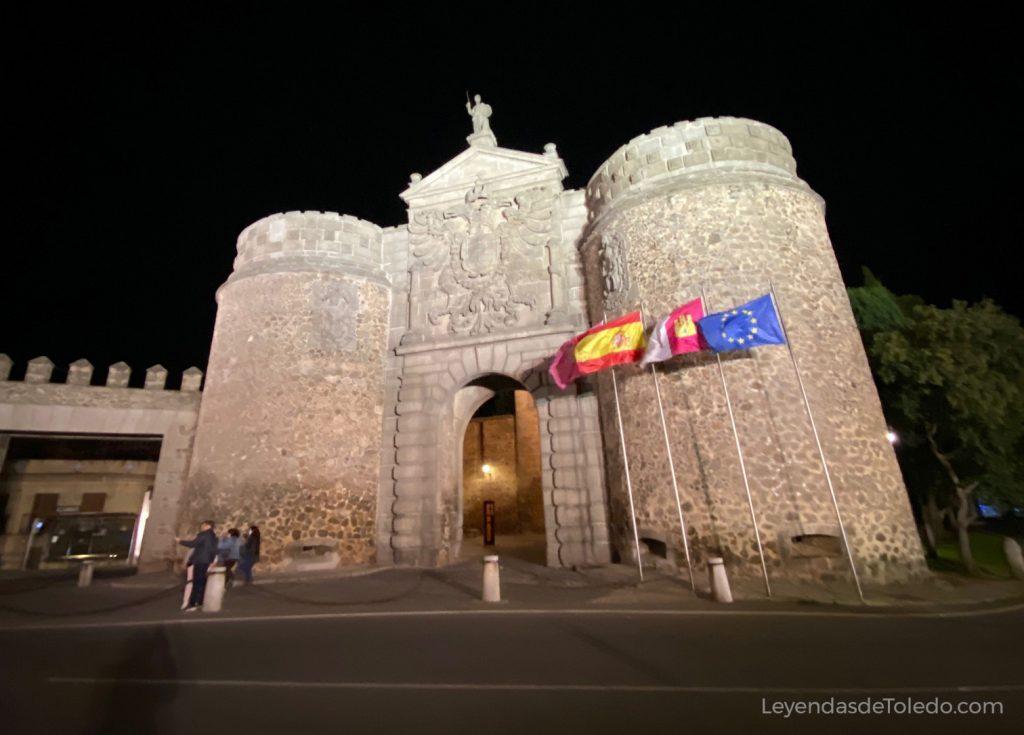 Puerta de Bisagra, fachada exterior.