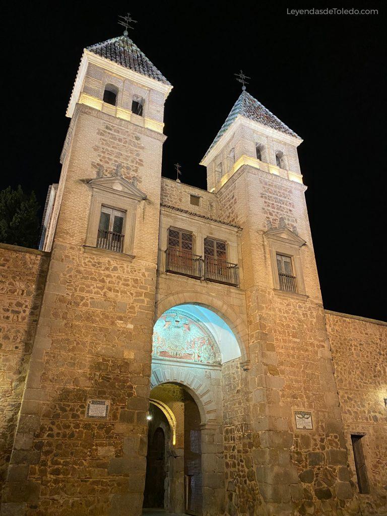 Puerta de Bisagra, torres interiores