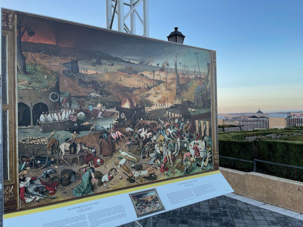 """Pieter Bruegel """"El Viejo"""" El triunfo de la Muerte."""