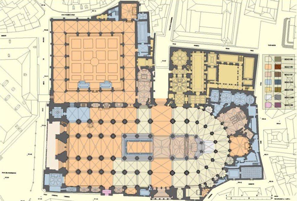 Épocas constructivas de la Catedral de Toledo