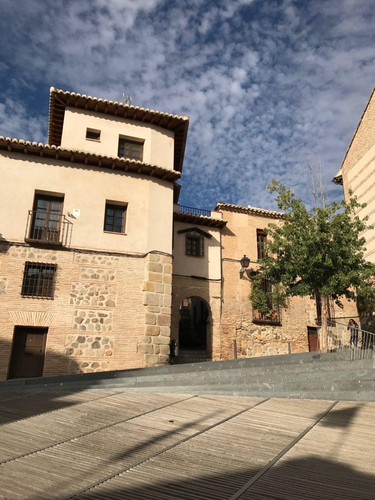 Arquillo de la Judería en la Calle del Ángel, Toledo