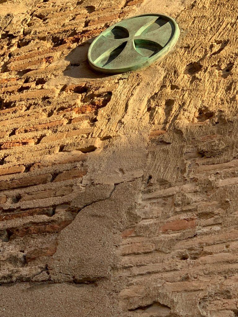 Cruz Paté en la Casa del Temple de Toledo
