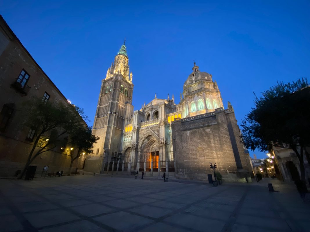 Fachada de la Catedral de Toledo