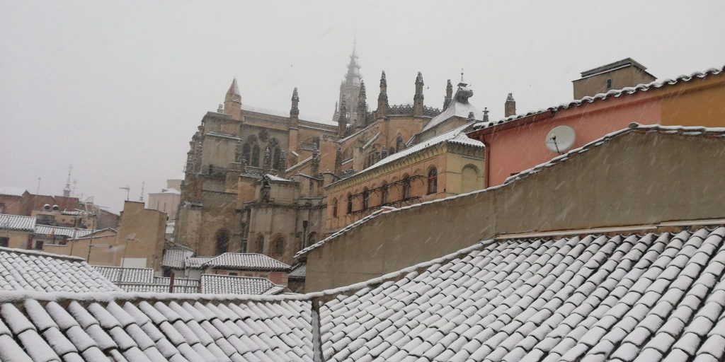 La Catedral con Nieve 2021 - Toledo
