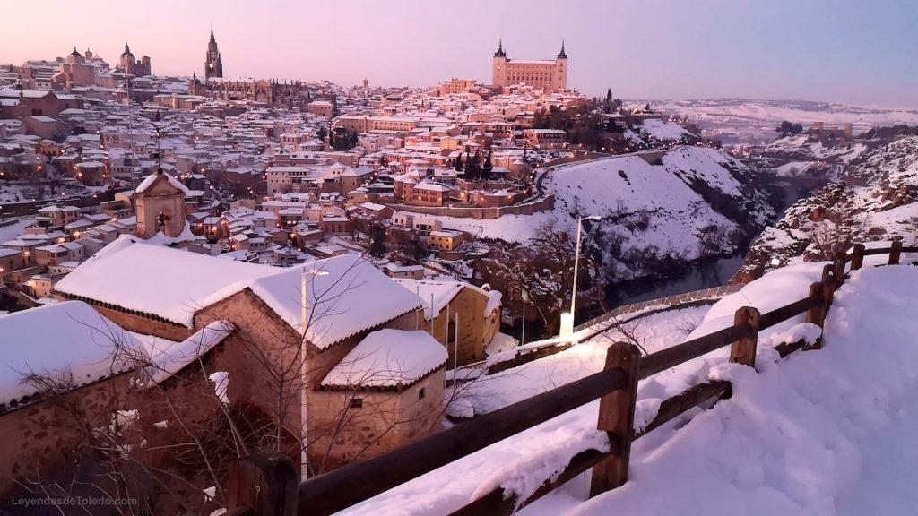 Nieve en Toledo, 11 de enero 2021. Foto: A. Gudiel