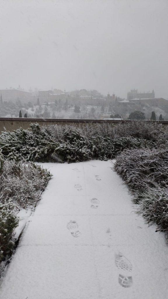 Toledo nevado 7/1/21 - Rubén López