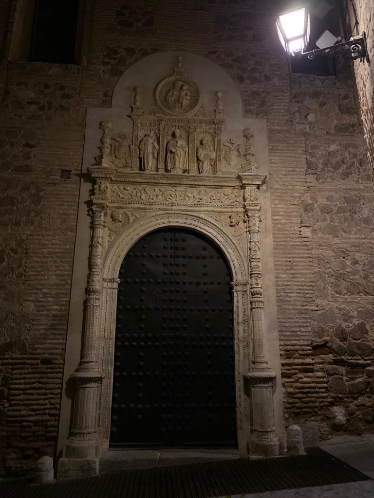 Portada del Convento de San Clemente