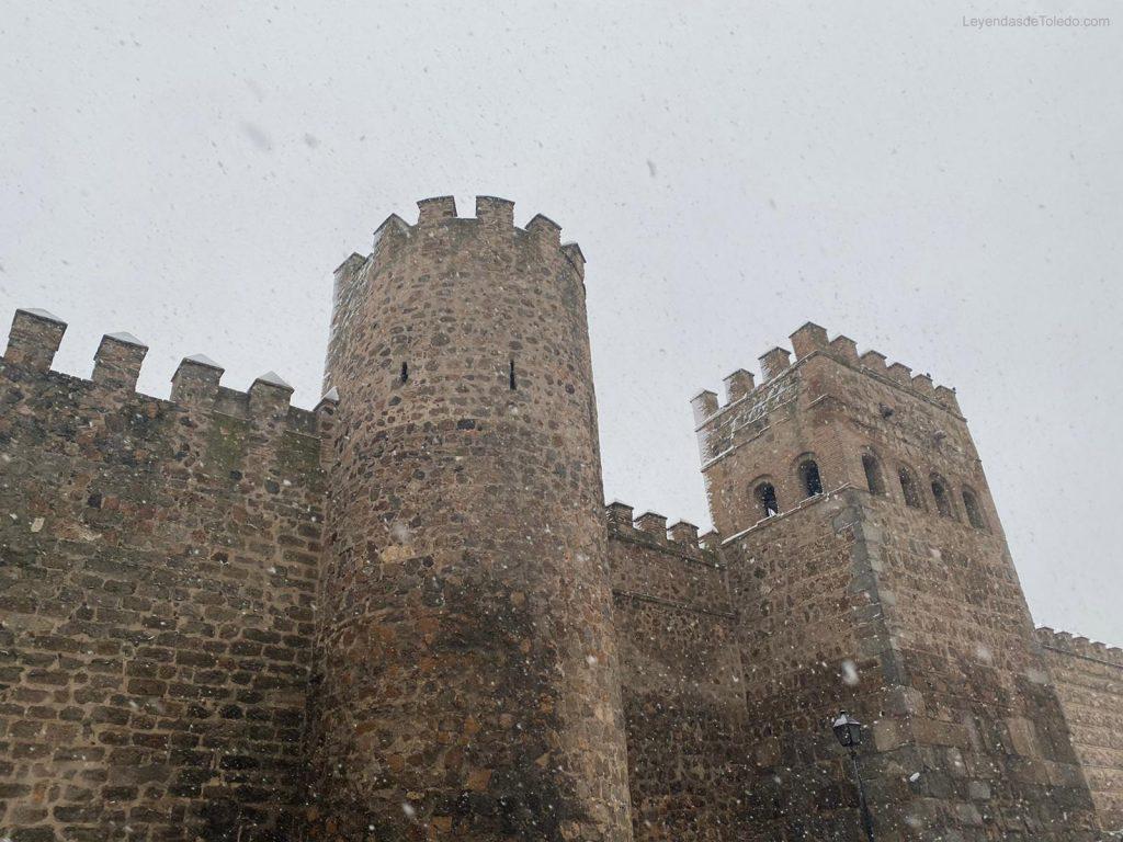 Torres de la Reina. Toledo nevado. Foto: José García Cano