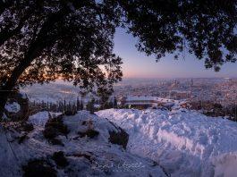 Foto: David Utrilla. Nieve el 14/01/21