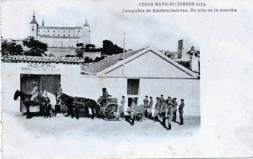 Barrio de San Blas en 1922. Fuente: Toledo Olvidado.