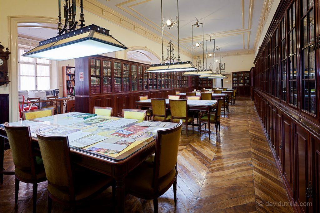 Biblioteca de la Academia de Infantería de Toledo. Foto: David Utrilla