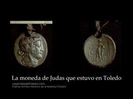 Anverso y reverso del vaciado en plomo de la moneda griega original que se conservó en La Puebla de Montalbán, realizado en 1803.