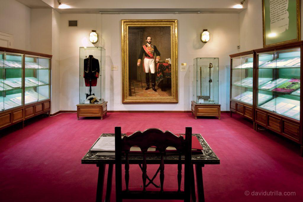 Sala Prim de la Academia de Infantería de Toledo. Foto: David Utrilla