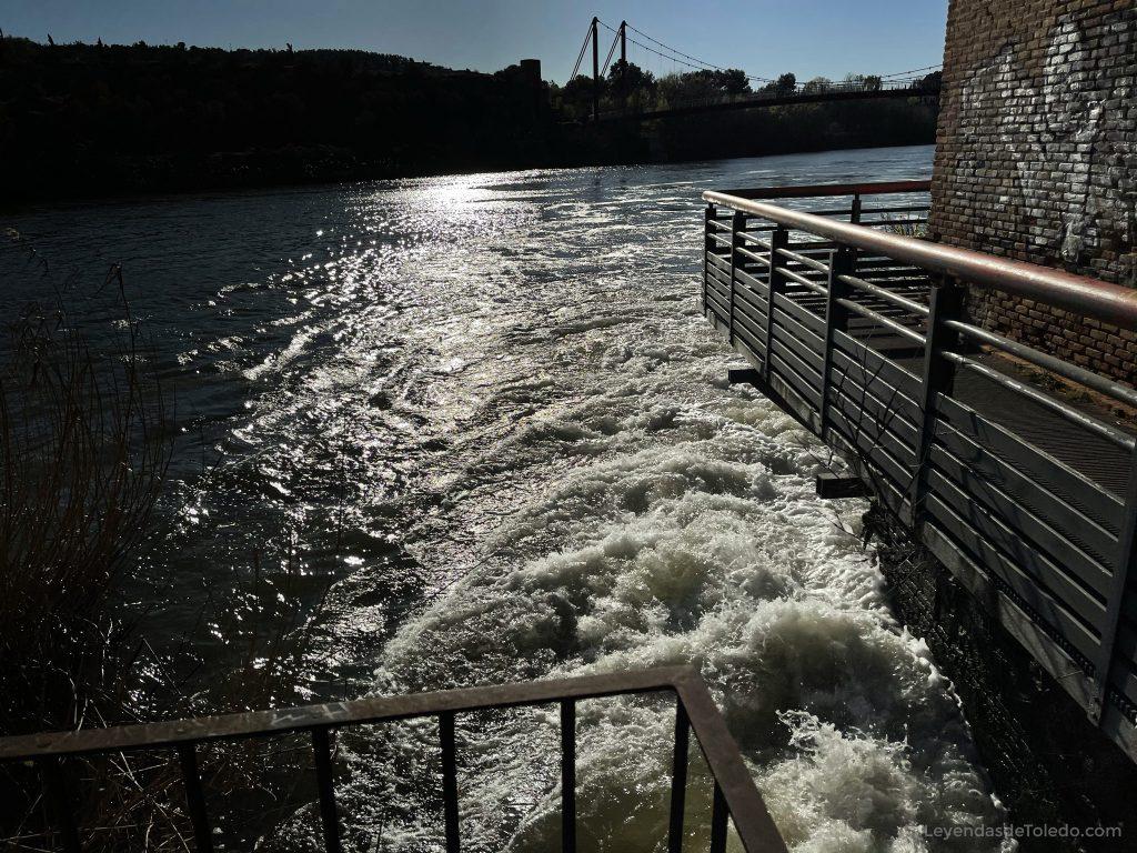 Canal en la Fábrica de Armas de Toledo