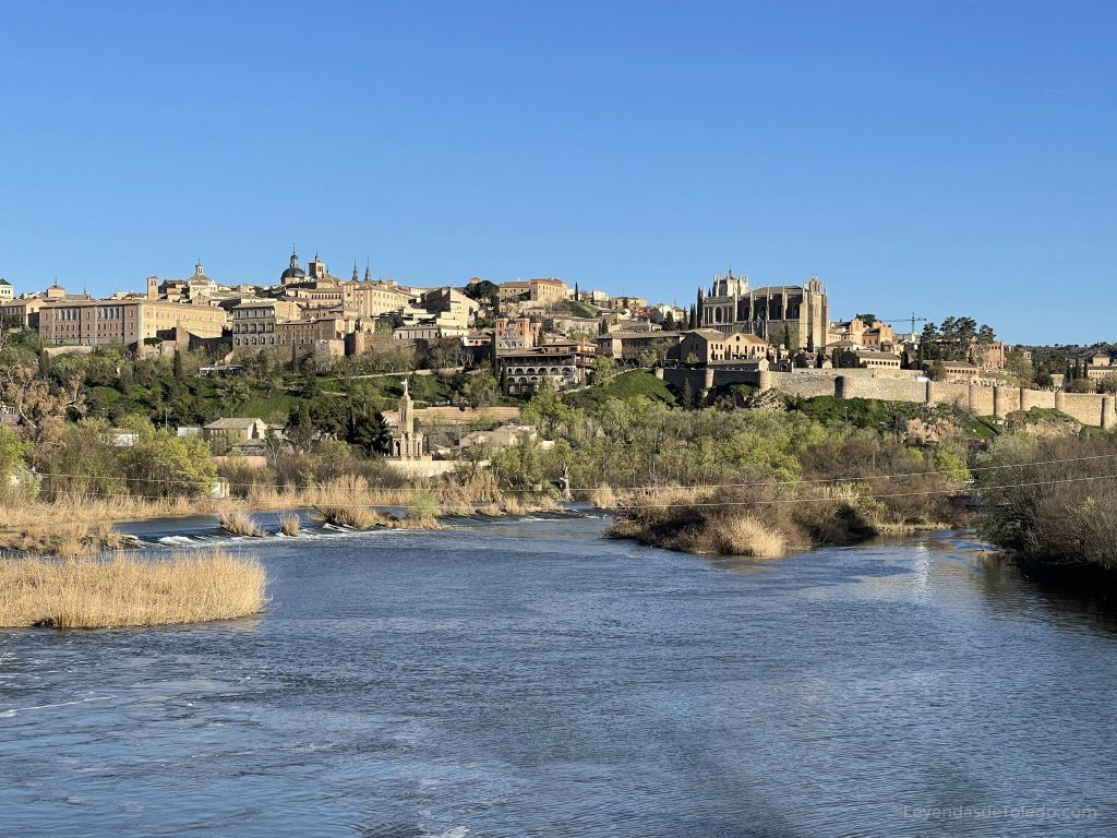 Vista desde el Puente de Polvorines en Toledo