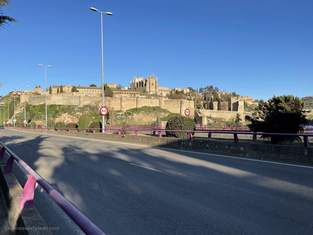 Toledo desde el puente de La Cava