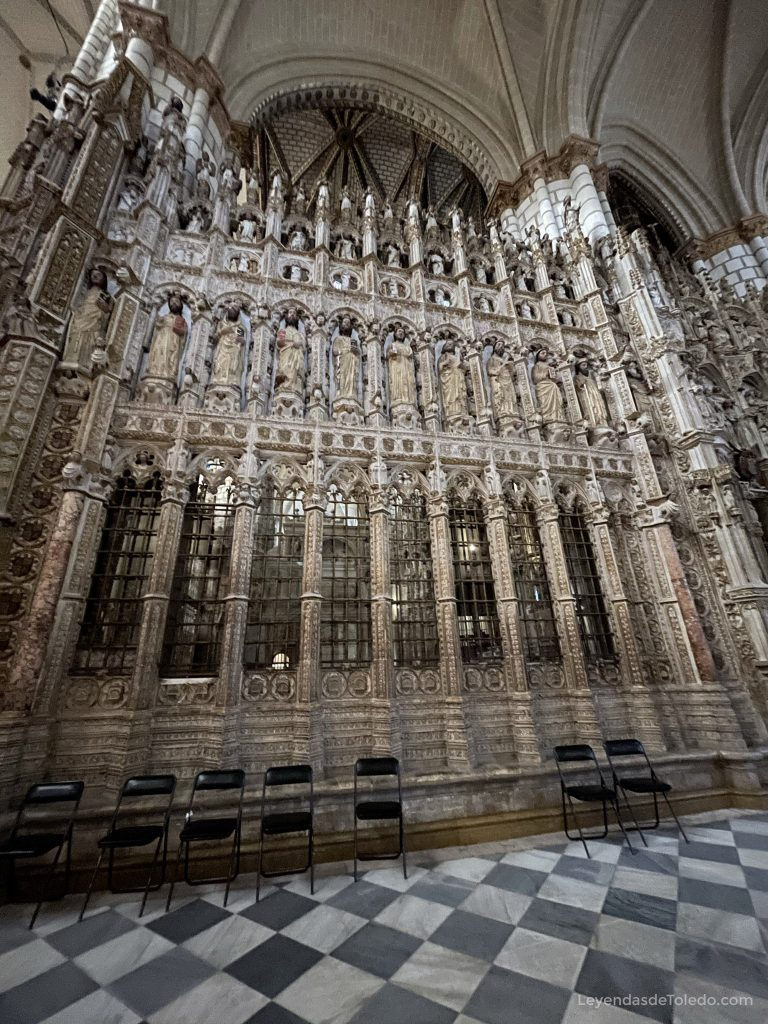 Cierre de la Capilla Mayor de la Catedral de Toledo