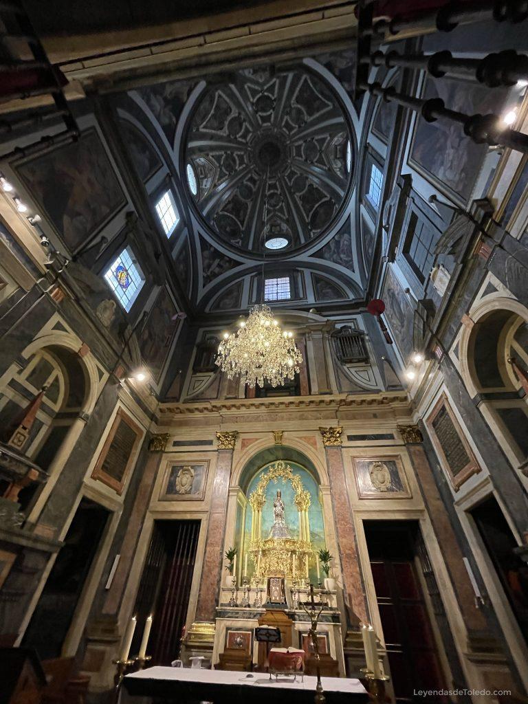 Capilla de la Virgen del Sagrario. Catedral de Toledo