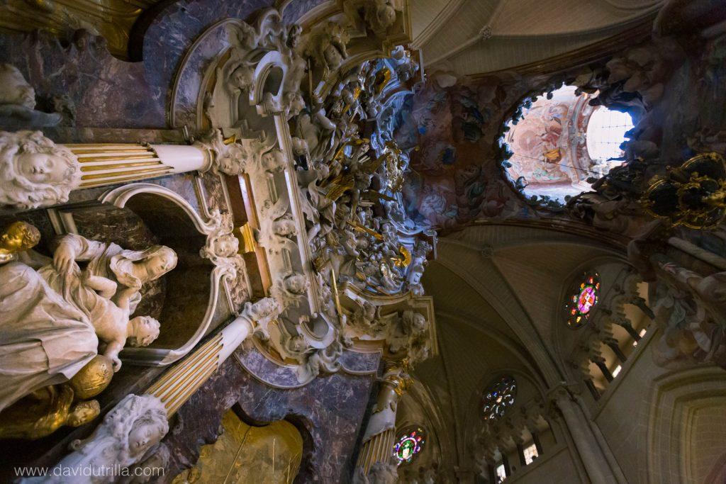 Transparente de la Catedral de Toledo, conjunto completo, por David Utrilla