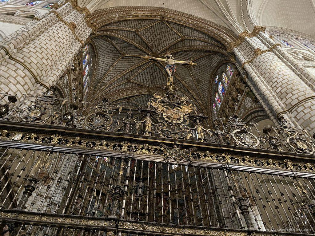 Reja de la Capilla Mayor de la Catedral de Toledo