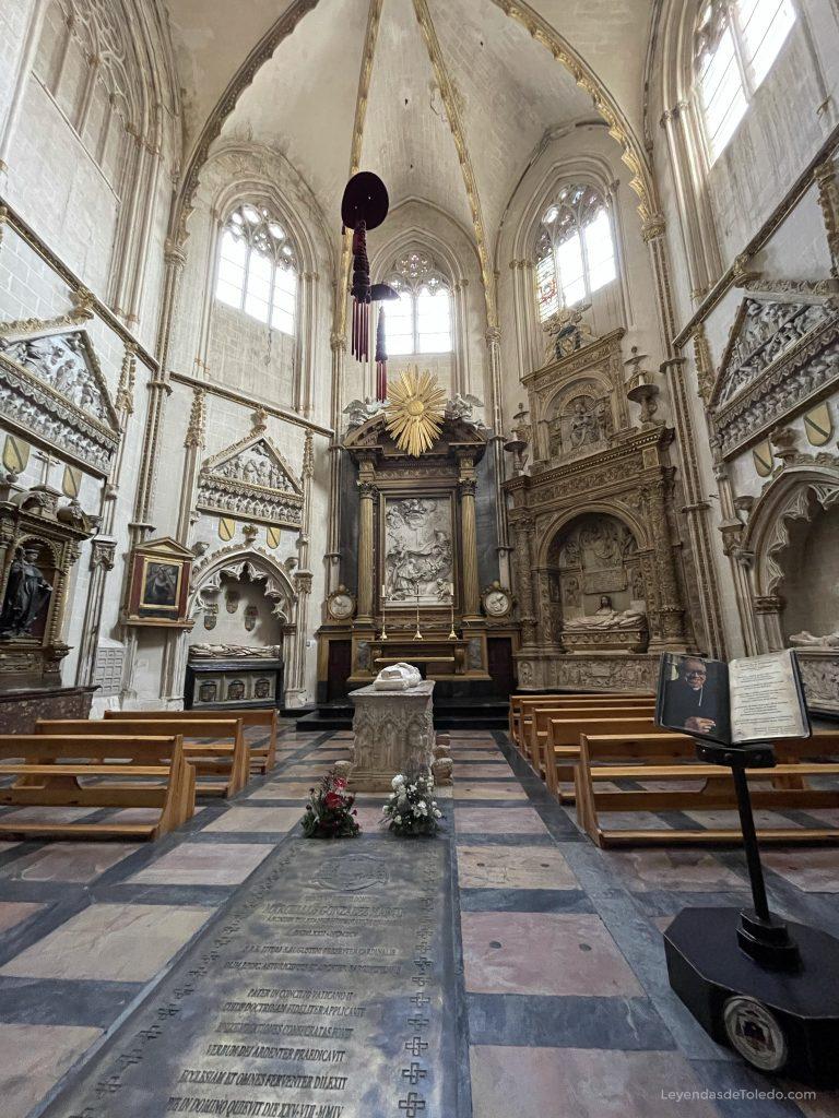 Capilla de San Ildefonso. Catedral de Toledo