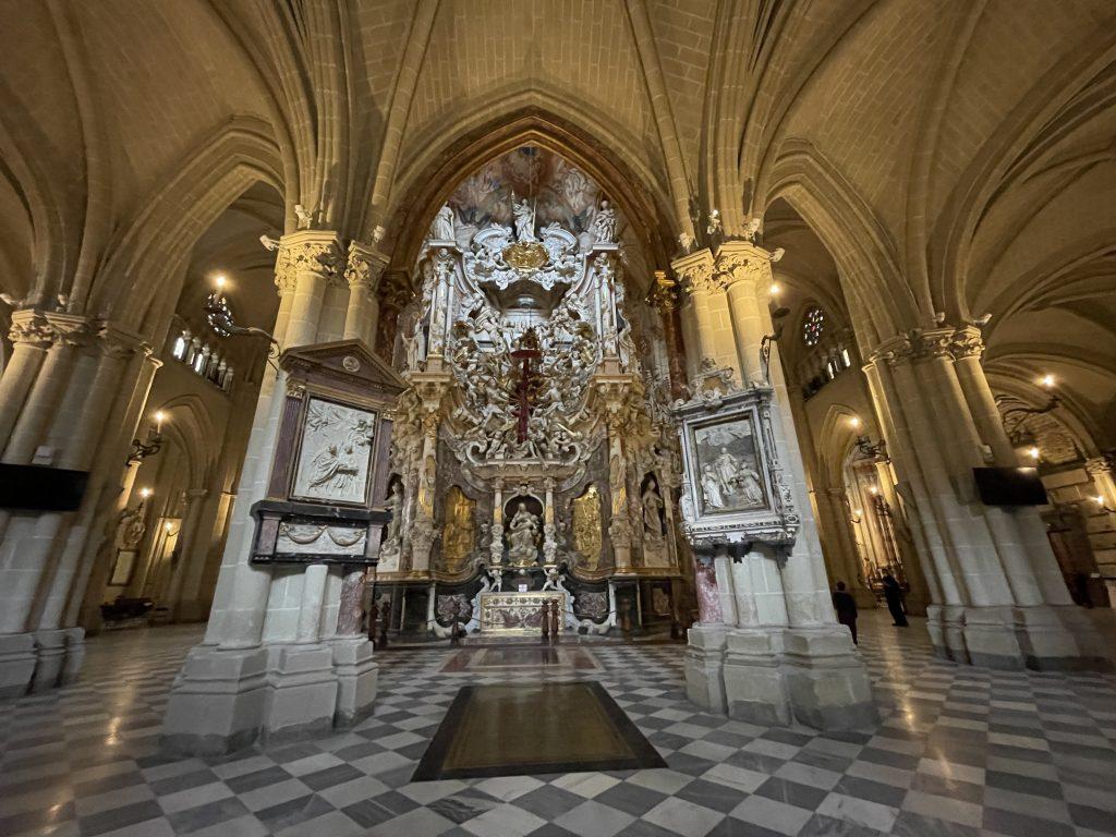 Conjunto escultórico del Transparente en la Catedral de Toledo