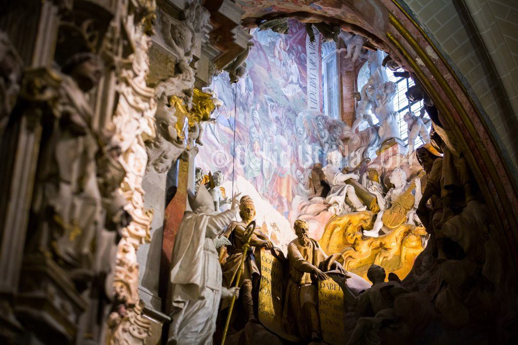 Transparente de la Catedral de Toledo. Foto: David Utrilla