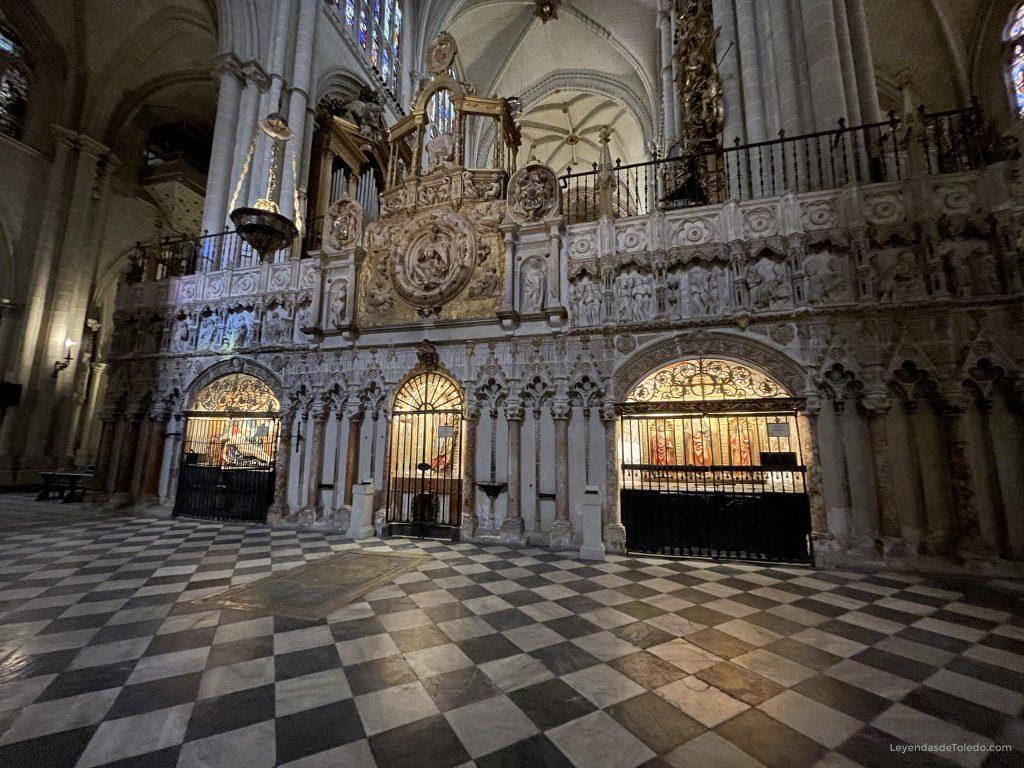 El Trascoro de la Catedral de Toledo