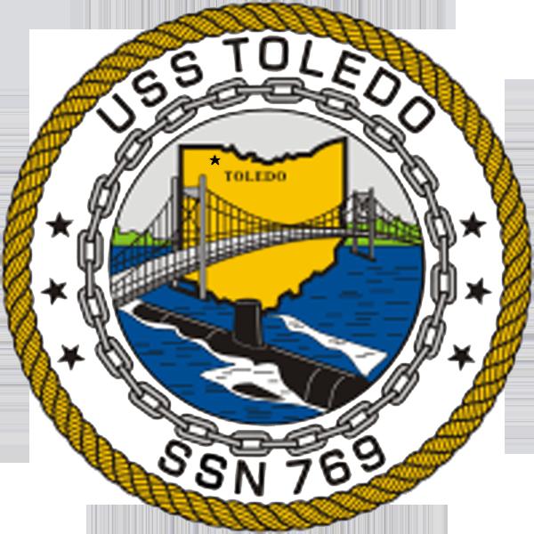 Insignia del SSN 769 USS Toledo