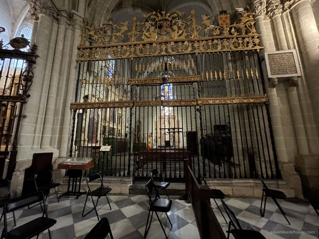 Capilla Virgen del Alcázar, Catedral de Toledo