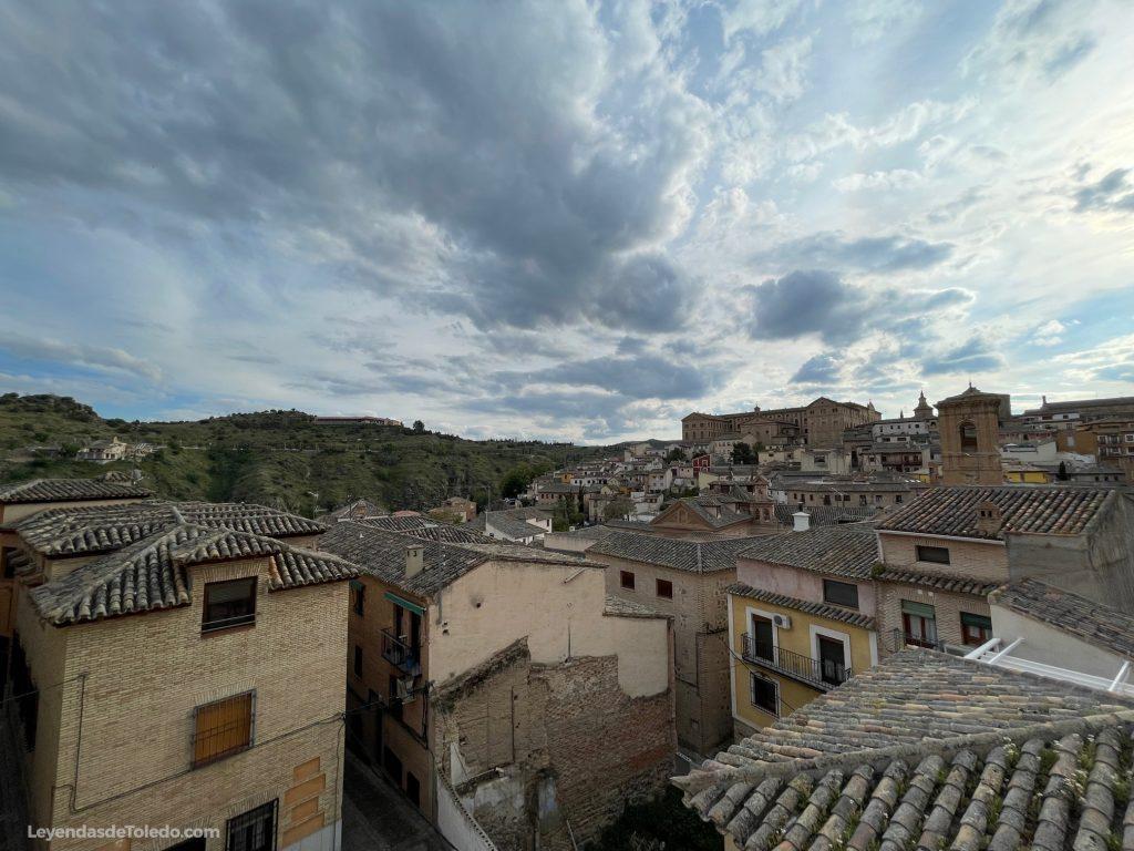Vistas desde la Plaza Escondida de Toledo