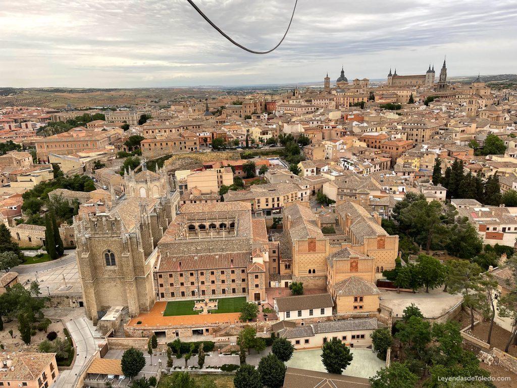 Volando en globo aerostático con EoloFly sobre Toledo