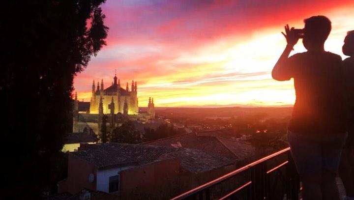 Mirador Virgen de Gracia, en Toledo