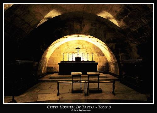 Cripta de Tavera.  Foto: Luis Arribas en Flickr.com