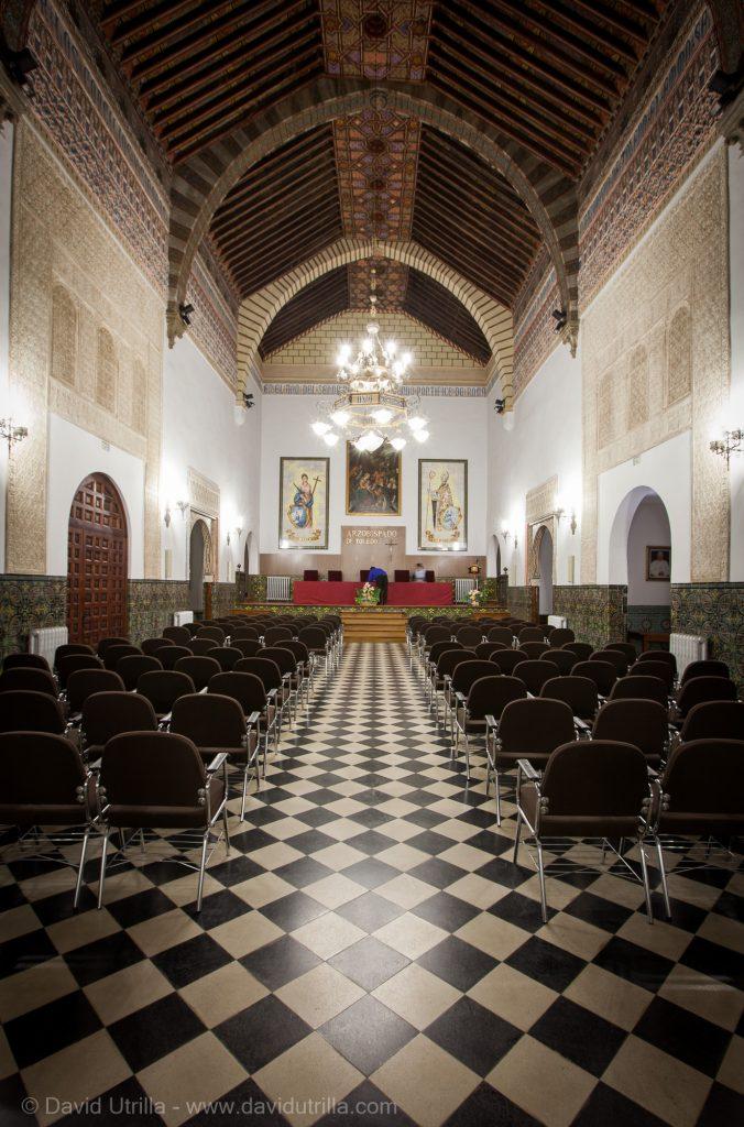 Salón de Concilios del Palacio Arzobispal de Toledo, por David Utrilla