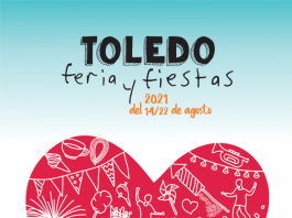 Cartel Ferias de Toledo - Agosto 2021