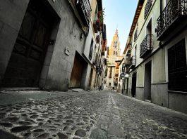 Una tarde de verano desde la calle Santa Isabel de Toledo, 2021