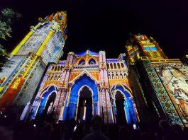 Luz Toledo 2021 en la Catedral. Foto: Amparo Bertol