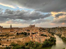 Vista de Toledo desde el Valle agosto 2021
